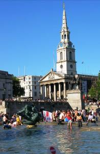 File:Fountain and St Martin in the Field, Trafalgar Square SW1 - geograph.org.uk - 1282783.jpg
