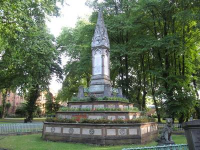 File:The Burdett Coutts Memorial Sundial, St Pancras Gardens, London - geograph.org.uk - 1462101.jpg