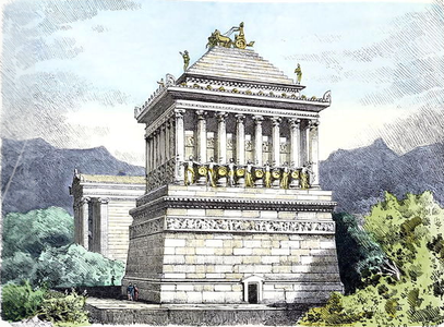 File:Mausoleum at Halicarnassus by Ferdinand Knab (1886) cropped.png